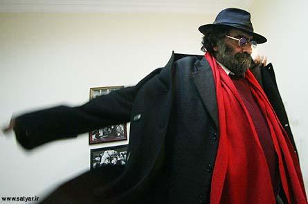 مسعود کیمیایی جلوی دوربین ساتیار امامی